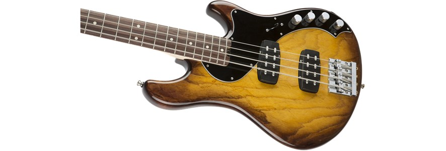 American Elite Dimension™ Bass IV HH - Violin Burst