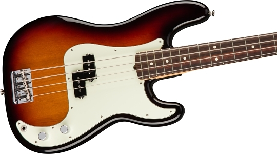 American Professional Precision Bass® - 3-Color Sunburst