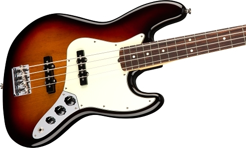 American Professional Jazz Bass® - 3-Color Sunburst