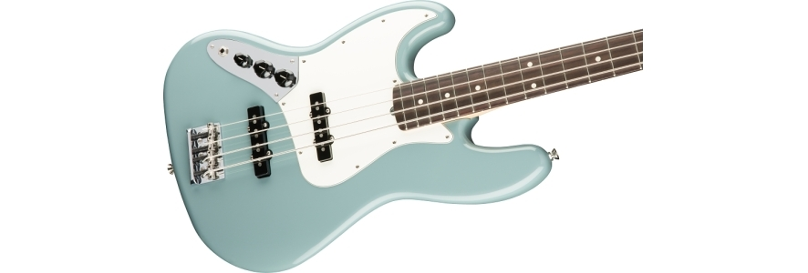 American Professional Jazz Bass® Left-Hand - Sonic Gray