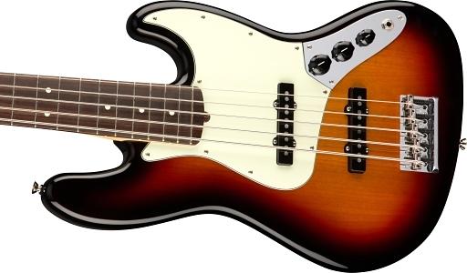American Professional Jazz Bass® V - 3-Color Sunburst
