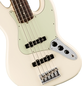American Professional Jazz Bass® V - Olympic White