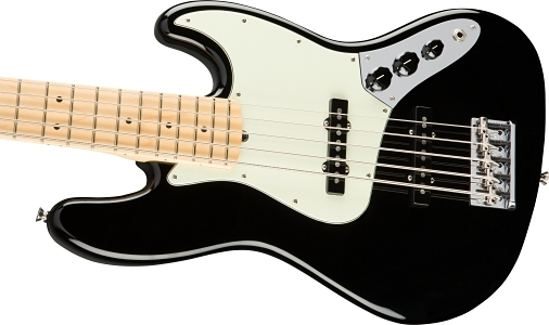 American Professional Jazz Bass® V - Black
