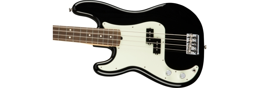 American Professional Precision Bass® Left-Hand - Black