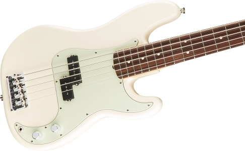 American Professional Precision Bass® V - Olympic White