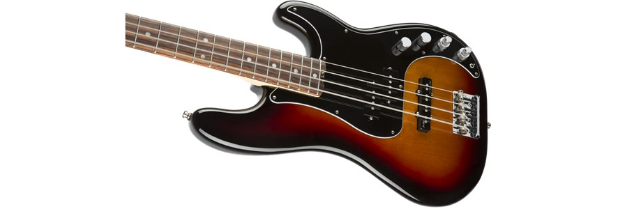 American Elite Precision Bass® - 3-Color Sunburst