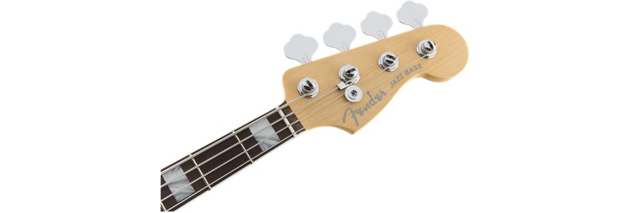 American Elite Jazz Bass® - 3-Color Sunburst