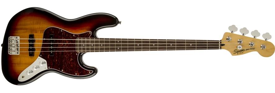 Vintage Modified Jazz Bass® - 3-Color Sunburst