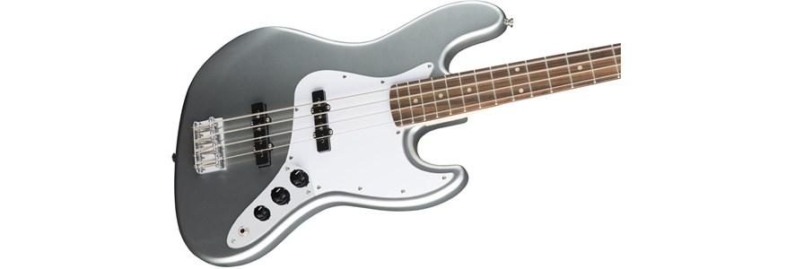 Affinity Series™ Jazz Bass® - Slick Silver