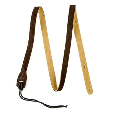Fender® Mandolin Straps - Brown Suede