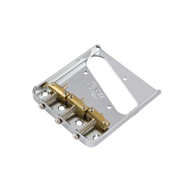 3-Saddle American Vintage Telecaster® Bridge Assembly (Chrome) -