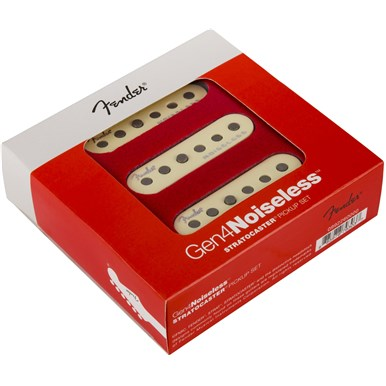 Gen 4 Noiseless™ Stratocaster® Pickups -
