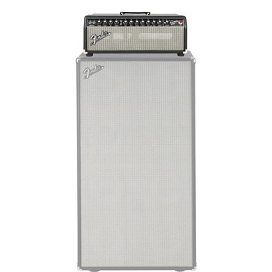Bassman® 800 Head - Black and Silver