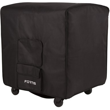 Fortis™ Fitted Speaker Covers - Black