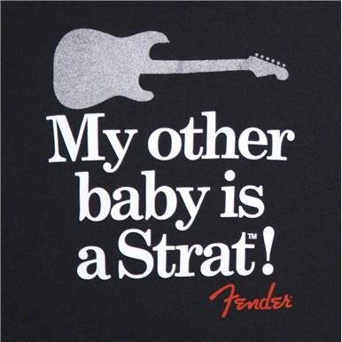 Fender® Onesie My Other Baby Is A Strat® - Black