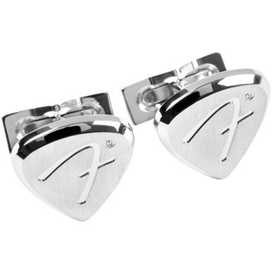 S.T. Dupont Limited Edition Palladium Fender Cufflinks -