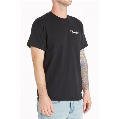 Fender® California Are You Ready To Rock T-Shirt - Black