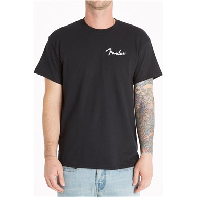 Fender® Are You Ready To Rock T-Shirt - Black