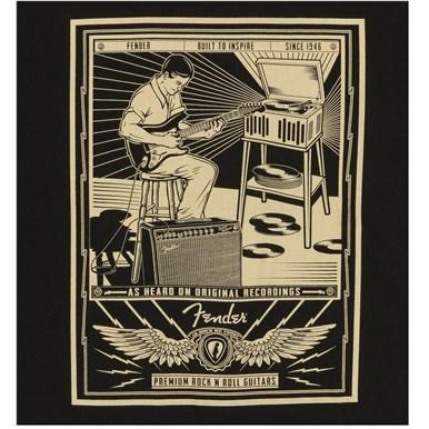 Fender® Sitting Player Men's T-Shirt - Black