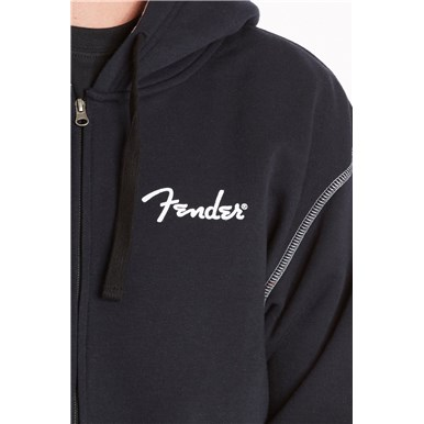 Fender® California Are You Ready To Rock Hoodie - Black