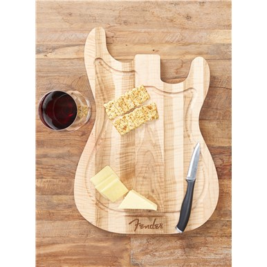 Strat Cutting Board - Figured Maple -