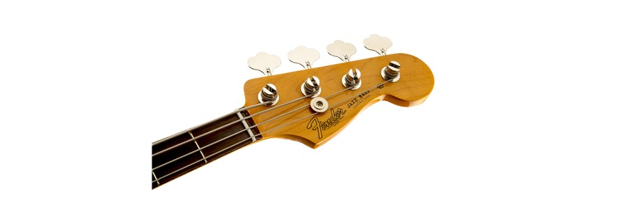Classic Series '60s Jazz Bass® Lacquer - 3-Color Sunburst