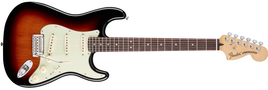 Deluxe Roadhouse™ Strat® - 3-Color Sunburst