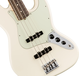 American Professional Jazz Bass® - Olympic White
