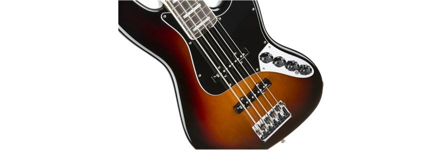 American Elite Jazz Bass® V - 3-Color Sunburst