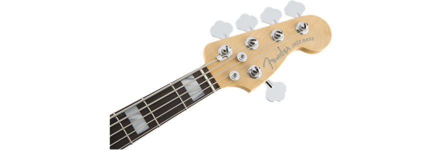 American Elite Jazz Bass® V - 3-Color Sunburst