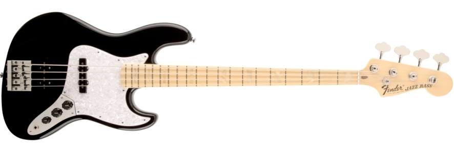 USA Geddy Lee Jazz Bass® - Black