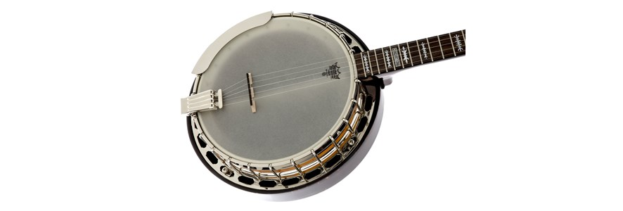 Deluxe Concert Tone 58 Banjo with Case -