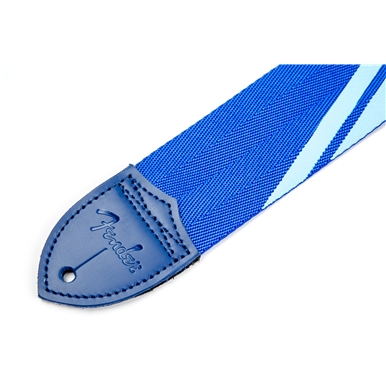 Fender® Competition Stripe Straps - Blue and Light Blue