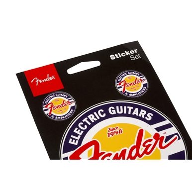 Fender™ Window Decals Guitar and Amp Logo  -