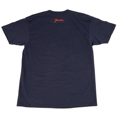 Fender® Guitars and Amps Logo T-Shirt - Navy