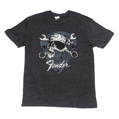 Fender® David Lozeau Mechanico T-Shirt - Black