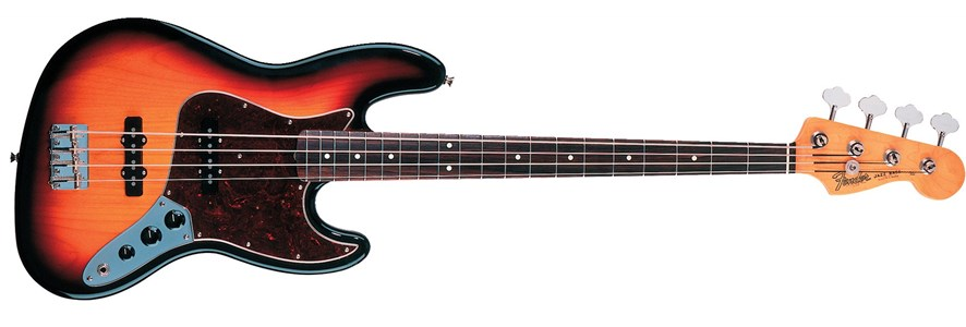 '60s Jazz Bass® - 3-Color Sunburst