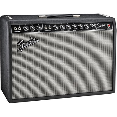 '65 Deluxe Reverb® in Black and Silver