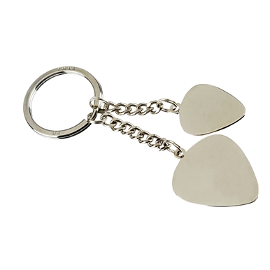 Fender™ Love Peace and Music Key Chain -
