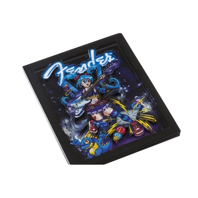 Fender™ Anime Rocker 3D Magnet -