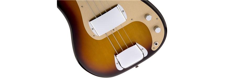 American Vintage '58 Precision Bass® - 3-Color Sunburst