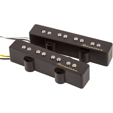 Fender Vintage Noiseless™ Jazz Bass Pickups - Black