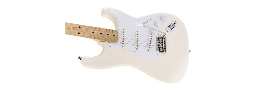 Jimmie Vaughan Tex-Mex™ Strat® - Olympic White