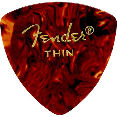 346 Shape Classic Celluloid Picks - 72 Count - Shell