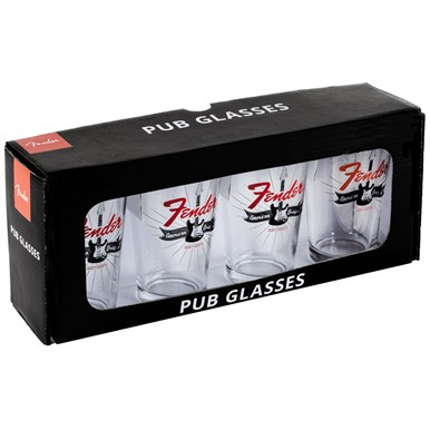 Fender® Strat® Burst Pint Glasses -