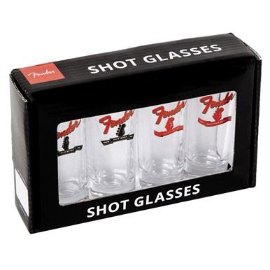 Fender® Banner Headstock Shot Glasses -