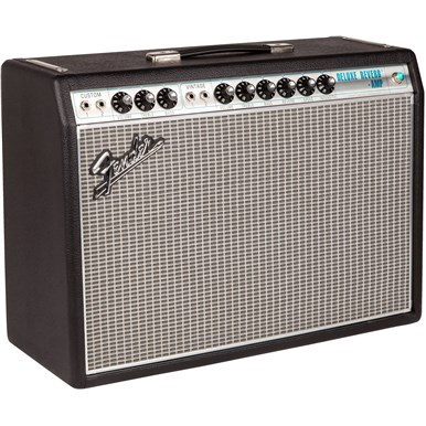 '68 Custom Deluxe Reverb® in Silver and Blue