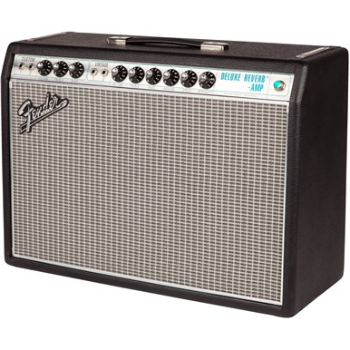 '68 Custom Deluxe Reverb® - Silver and Blue