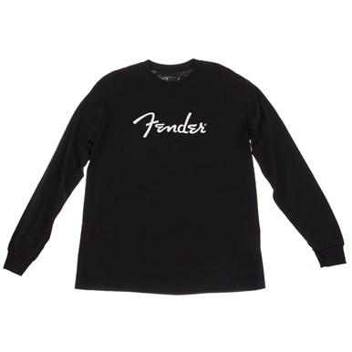 Fender® Long-Sleeve Logo T-Shirt - Black