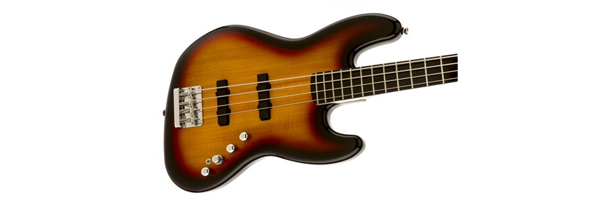 Deluxe Jazz Bass® Active IV - 3-Color Sunburst